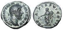Ancient Coins - Lucius Verus. AD 161-169. AR Denarius, EF