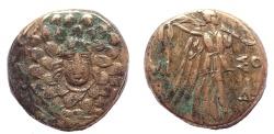 Ancient Coins - Pontos, Amisos. Time of Mithradates VI. Circa 85-65 BC. Æ 19