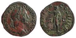 Ancient Coins - Severus Alexander, 222-235 AD. AE Sestertius, Sol Reverse