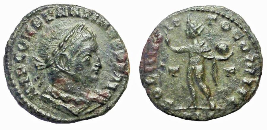 Ancient Coins - Constantine I, 307-337 A.D.  AE follis