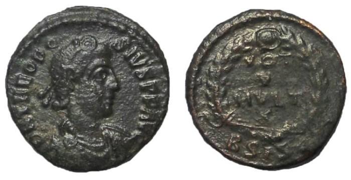 Ancient Coins - Theodosius I, 379-395 AD, AE 4