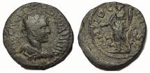 Ancient Coins - Pisidia, Antiochia.Volusian.AD 251-253. Æ 22