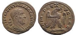Ancient Coins - Seleucis and Pieria. Antioch. Trajan Decius. AD 249-251. BI Tetradrachm