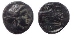 Ancient Coins - Caria, Cnidus, circa 250-210 BC, Æ 11