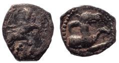 Ancient Coins - Lycaonia, Laranda. Circa 324/3 BC. AR Obol