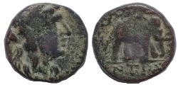 Ancient Coins - Seleukid Kings of Syria. Antiochos III 'the Great'.222-187 BC. Æ 14
