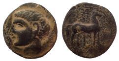 Ancient Coins - Spain, Carthago Nova. Roman Occupation. After 209 BC. Æ Unit