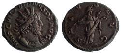 Ancient Coins - Victorinus. Romano-Gallic Emperor, AD 269-271. Antoninianus