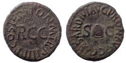 Ancient Coins - Gaius (Caligula). AD 37-41. Æ Quadrans
