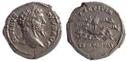 Ancient Coins - Septimius Severus (193-211). Denarius. Circus Maximus spectacle. Very Rare