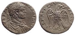 Ancient Coins - Phoenicia, Aradus(?) Caracalla. AD 198-217. AR Tetradrachm. Rare.