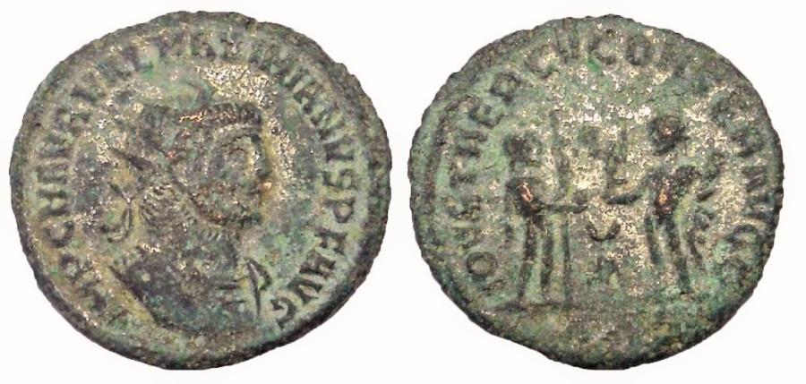 Ancient Coins - Maximianus, 286-310 AD.  AE Antoninianus