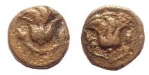 Ancient Coins - Islands off Caria, Rhodos. Rhodes. Circa 205-200 BC. Æ Chalkous