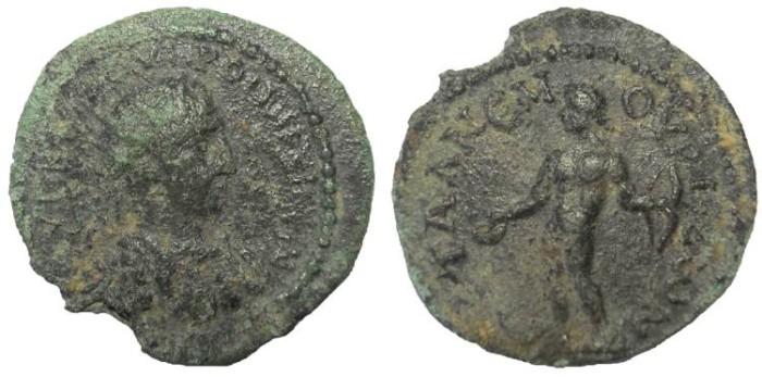 Ancient Coins -  Cilicia, Anemourion: Maximinus I, 235-238 AD, AE bronze.  Rare