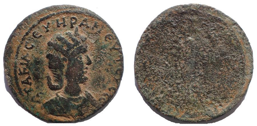 Ancient Coins - Cilicia, Tarsus. Otacilia Severa. Augusta, AD 244-249. Æ 32