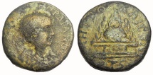 Ancient Coins - Cappadocia, Caesarea: Severus Alexander, 222 - 235 AD.  AE 25 mm