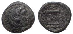 Ancient Coins - Kings of Macedon: Alexander III, 336-323 BC. Æ 17