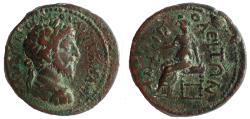 Ancient Coins - Macedon, Amphipolis. Marcus Aurelius. 161-180 AD. Æ 26