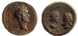 Ancient Coins - Cilicia. Eirenopolis-Neronias . Antoninus Pius AD 138-161. Æ 27. Rare.