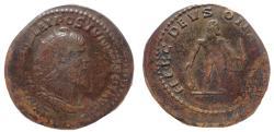 Ancient Coins - Postumus. Romano-Gallic Emperor, AD 260-269. Æ Double Sestertius