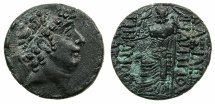 Ancient Coins - SELEUCID EMPIRE.Philip I Philadelphus 93-83 BC.AR.Tetradrachm.Uncertain North Syrian or Cilician mint.****monogram not recorded in Houghton or Spaer.