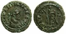 Ancient Coins - EGYPT.ALEXANDRIA.Diocletian AD 284-305.Billon Tetradrachm, struck AD 292/293.~#~.Elpis lifting chiton