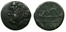 Ancient Coins - BLACK SEA.PANTIKAPAION.Circa 3rd Cent BC.AE.20mm.