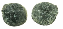 Ancient Coins - Artaxiads of ARMENIA.Tigranes IV 8-5 BC.AE.14.6mm.~#~.Eagle standing left.