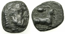 Ancient Coins - CYPRUS.SALAMIS.Evagoras I circa 411-374 BC.AR.Stater.