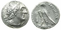 Ancient Coins -  PTOLEMAIC EMPIRE.PHEONICIA.Ptolemy II Philadelphus 285-246 BC.AR.Tetradrachm.Mint of TYRE.Struck c.266/5 BC.