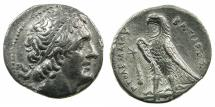 Ancient Coins - PTOLEMAIC EMPIRE.PHEONICIA.Ptolemy II Philadelphus 285-246 BC.AR.Tetradrachm.Mint of TYRE.