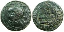 Ancient Coins - ZENGID ATABEGS OF MOSUL. Badr al-Din Lu Lu 631-657H ( AD 1234-1259).AE.Dirhem. struck AD 631, Mint of al-Mawsil.