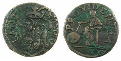 World Coins - ITALY.MILAN.Philip III 1598-1621.Bi.Parpagliola.No date.
