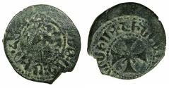 World Coins - CILICIAN ARMENIA.Levon 'The Usurper' AD 1363-1365.AE.Pogh.Mint of SIS.