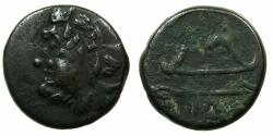 Ancient Coins - BLACK SEA.PANTIKAPAION.Circa 3rd Cent BC.AE.20mm.