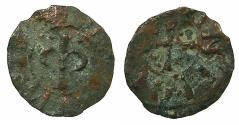 World Coins - CRUSADER STATES.ANTIOCH.Bohemond III AD 1163-1201 or Bohemond IV 1201-1216 and 1219-1233.AE.Pougeoise.