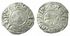 World Coins - CRUSADER STATES.ANTIOCH.Raymond of Potiers AD 1136-1149.Billon Denier. ***RARE***