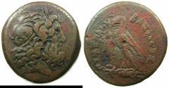 Ancient Coins - PTOLEMAIC EMPIRE.EGYPT.ALEXANDRIA. Ptolemy IV 221-205 BC AE Drachma.