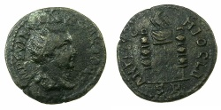 Ancient Coins - PISIDIA.ANTIOCHIA.Volusian AD 251-53.AE.23mm.