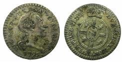 World Coins - ITALY.SARDINIA.Vittorio Amadeo III King of Sardinia 1773-1796.Billon Mezzo Reale 1795.Mint of TURIN.