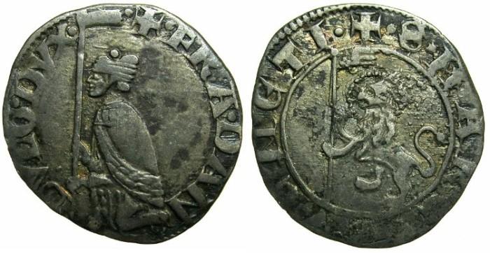 Ancient Coins - ITALY.VENICE.Francesco Dandolo AD 1329-1339.AR.Soldino.
