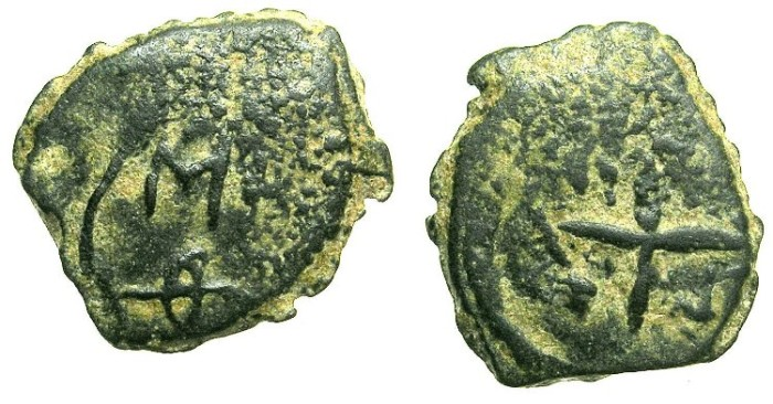 Ancient Coins - CRUSADER STATES.ANTIOCH.Anonymous issue.AE.Follis.