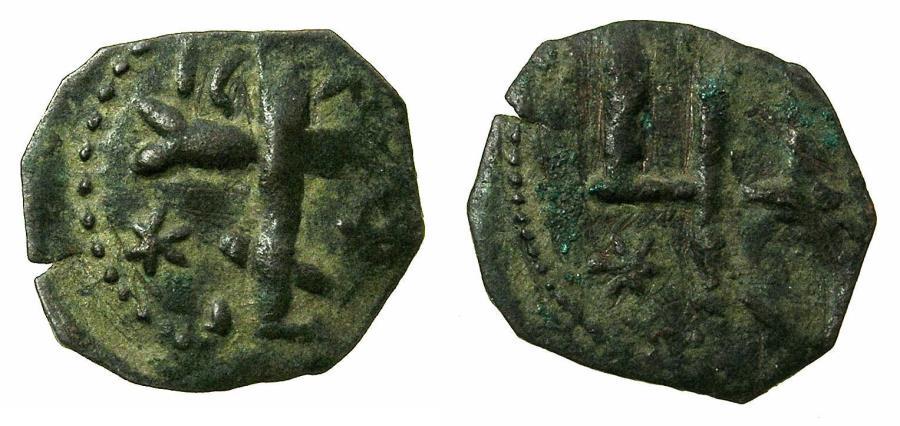 World Coins - BULGARIA.Mikail Asen III Sishman AD 1323-1330.AE.Follis. Turnovo mint.