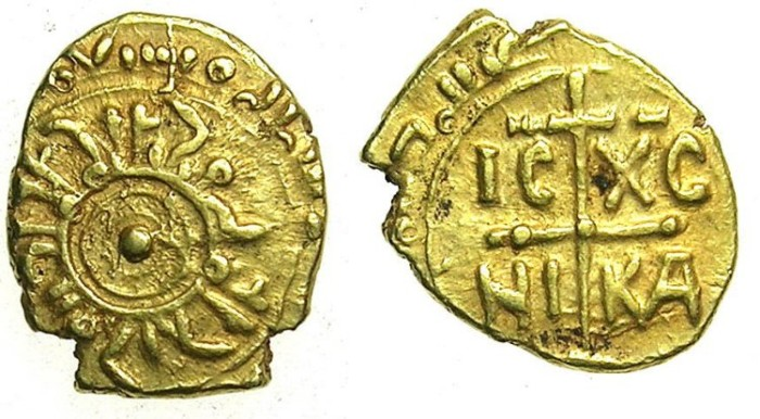 Ancient Coins - ITALY.SICILY.Tancred AD 1190-1194.Gold Tari.Mint of MESSINA or PALERMO.