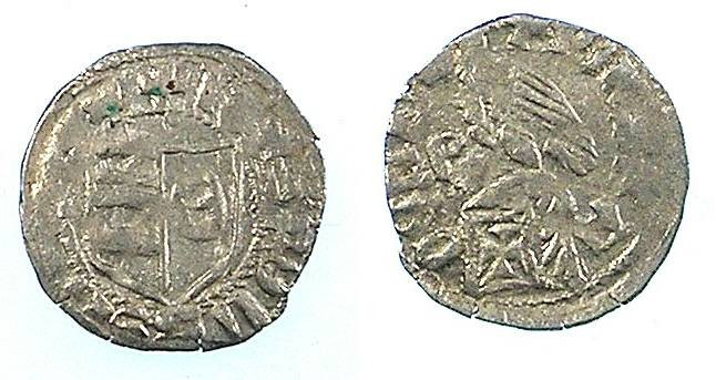 Ancient Coins - ROMANIA.VOIVODES OF WALLACHIA.Radu I 1377-1383.Bi.Denier