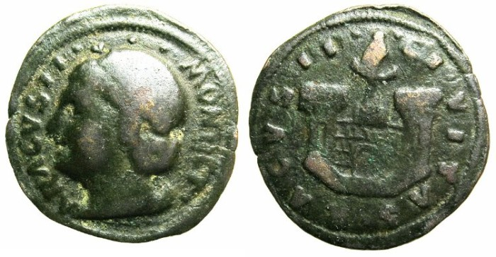 Ancient Coins - ITALY.RAGUSA under VENICE.AE.Follaro.Anonymous issue struck circa AD 1449-1545.