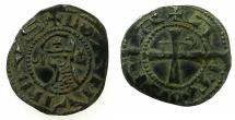 World Coins - CRUSADER STATES.Principality of ANTIOCH.Bohemond III or IVc.1163-1233.Bi.Denier.class O.