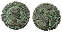 Ancient Coins - EGYPT.ALEXANDRIA.Maximianus Gallerius AD 293-311, as Caesar AD 293-305.Billon Tetradrachm, struck AD292/3.~#~.Alexandria standing.