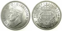 World Coins - GREAT BRITAIN.George VI Coronation crown 1937.