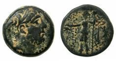 Ancient Coins - SELEUCID EMPIRE.Antiochus IX Philopatoros 114/12-96/5 BC.AE.22mm.Mint of TARSUS.